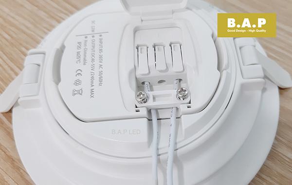hướng dẫn lắp đặt đèn led âm trần BAP LED